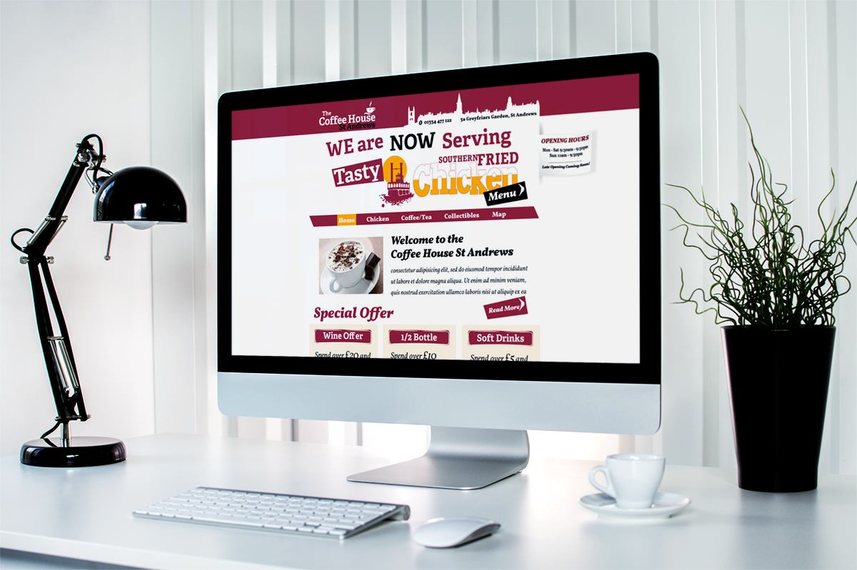 Website Design -Fife