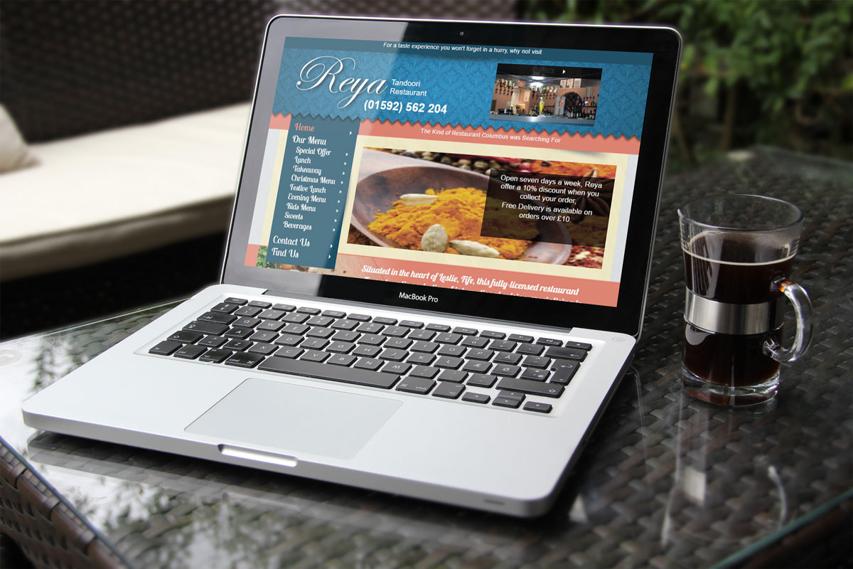 Restaurant_ Website_Design -Fife Website Design